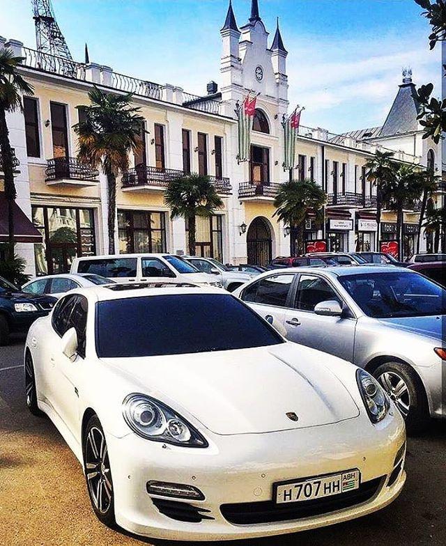 Street in Sukhumi, Abkhazia