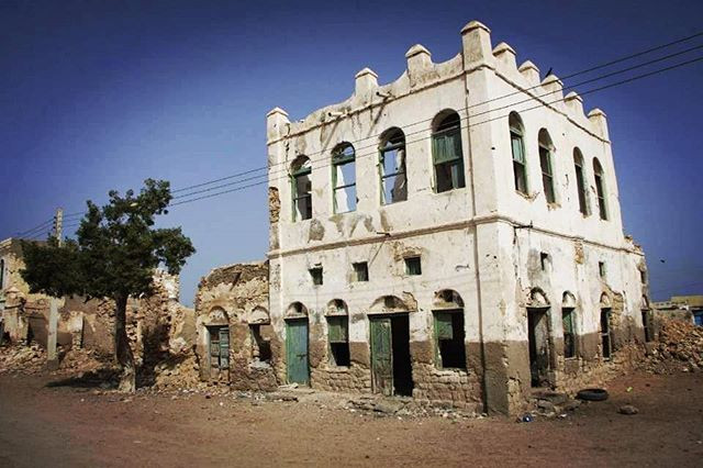 The old port city of Berbera in the Republic of Somaliland.