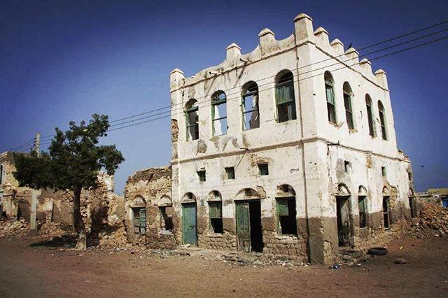 Building in Berbera, Somaliland