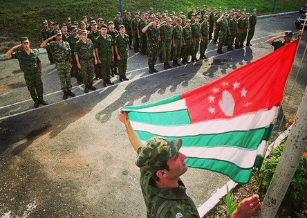 Abkhazian Soldiers