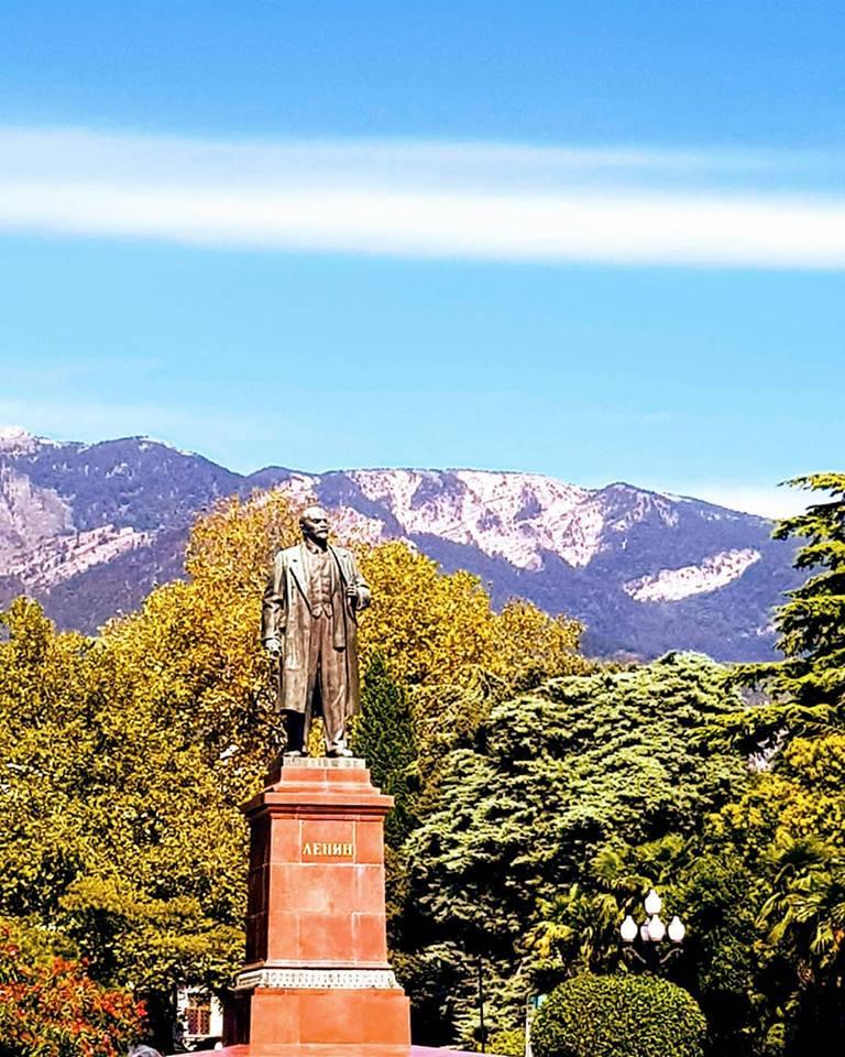 Statue of Lenin in Yalta, Crimea