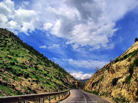 Road in Iraqi Kurdistan