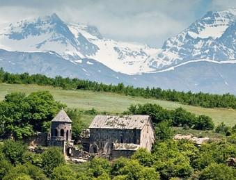 Monestary in South Ossetia