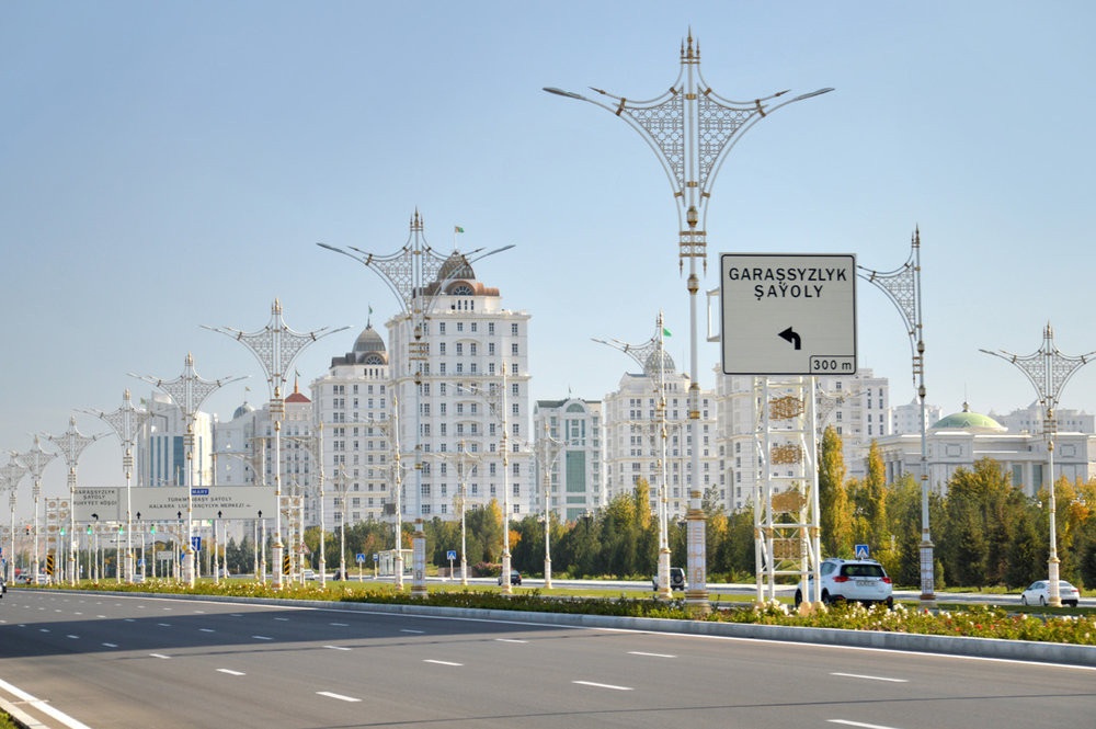 Street in Ashgabat