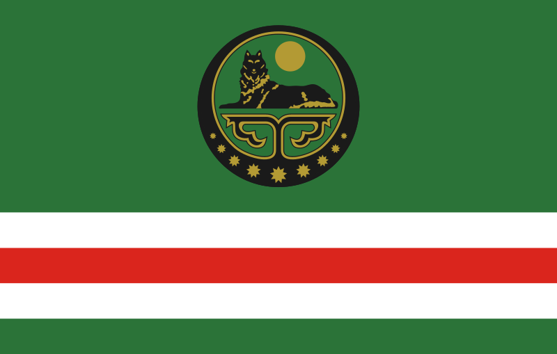 Flag of the Chechen Republic of Ichkeria
