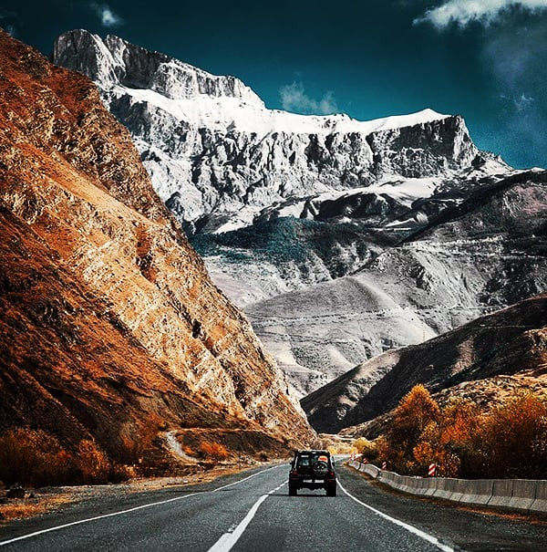 Road to South Ossetia