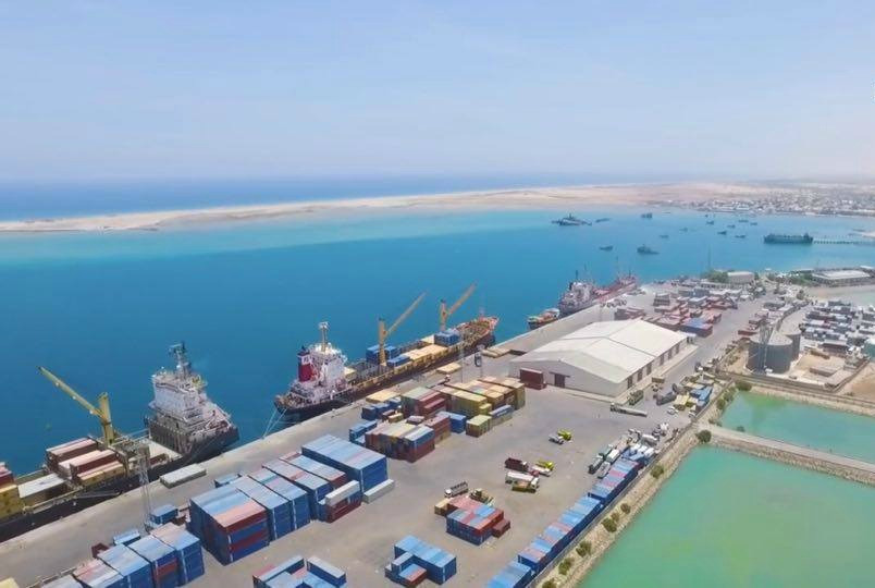 The port of Berbera in the unrecognized country of Somaliland