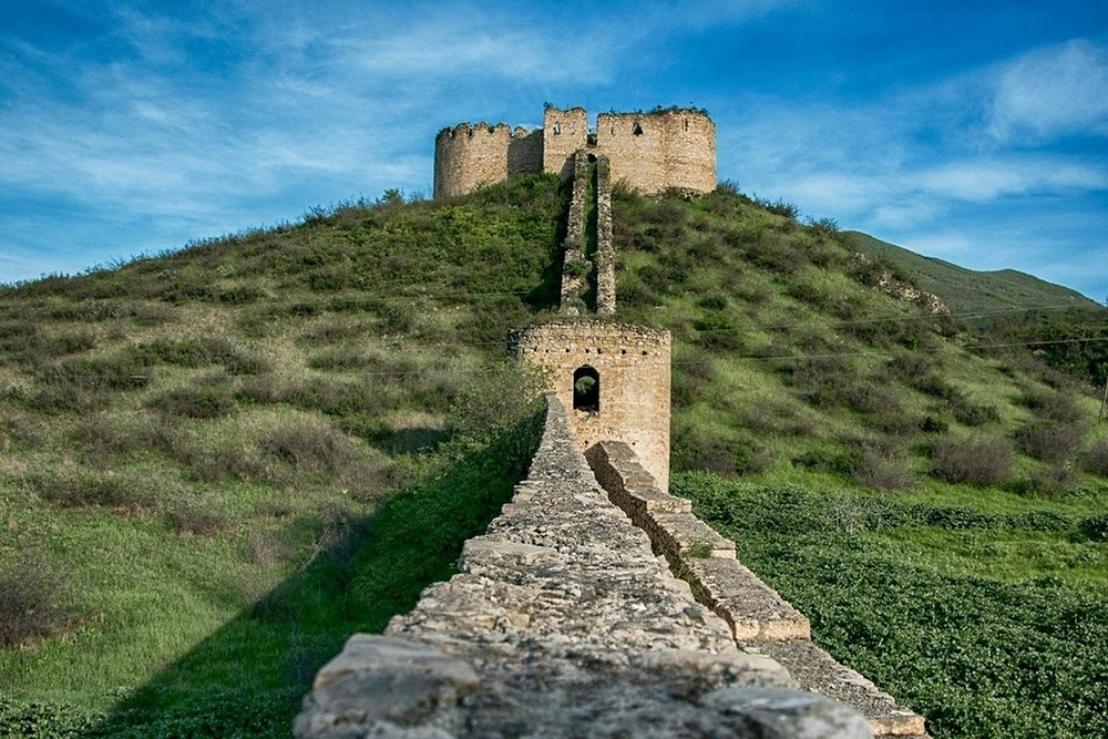 Askeran Fortress in Nagorno-Karabakh