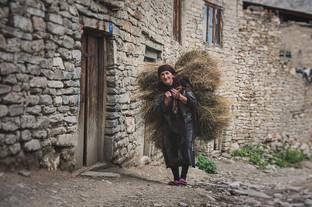 Woman in Dagestan