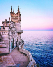 Swallow's Nest Castle in Crimea