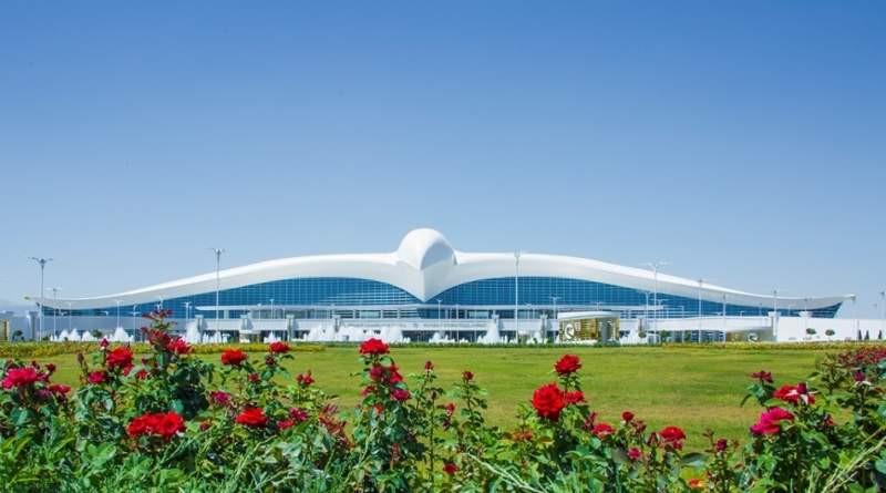 Ashgabat International Airport in Turkmenistan