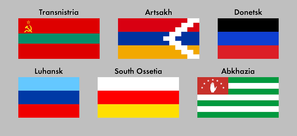 Unrecognized country flags