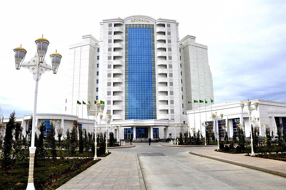 Hotel in Avaza, Turkmenistan