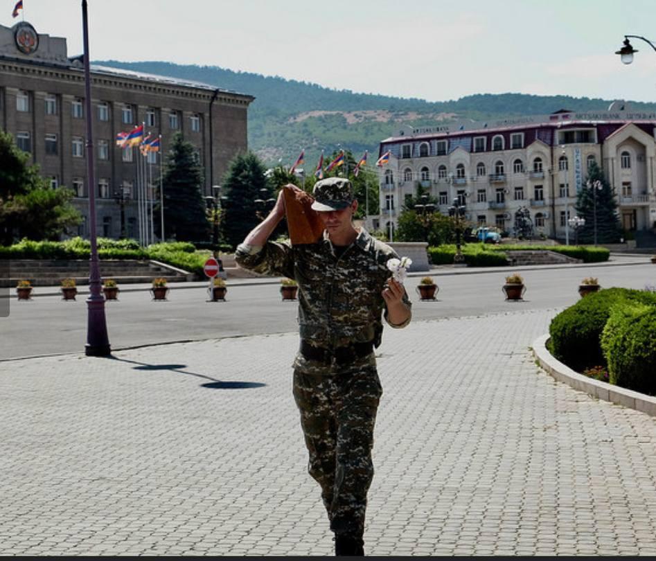 Soldier in Artsakh