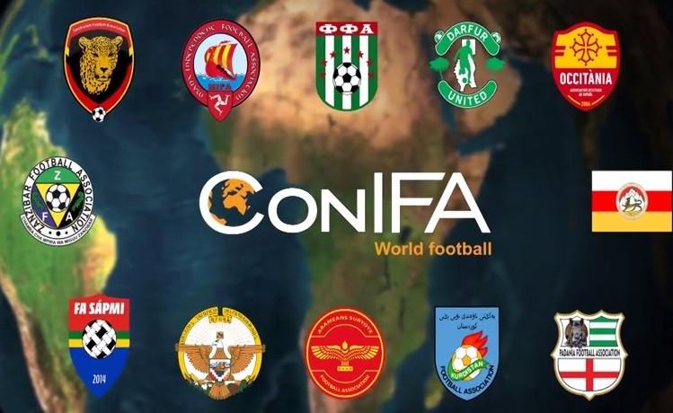 CONIFA member states