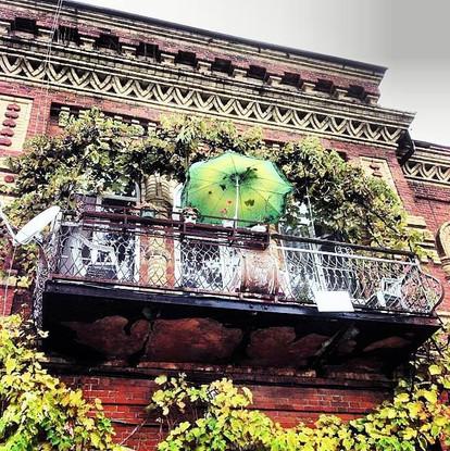 Abkhazian Balcony