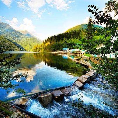 Lake in Abkhazia