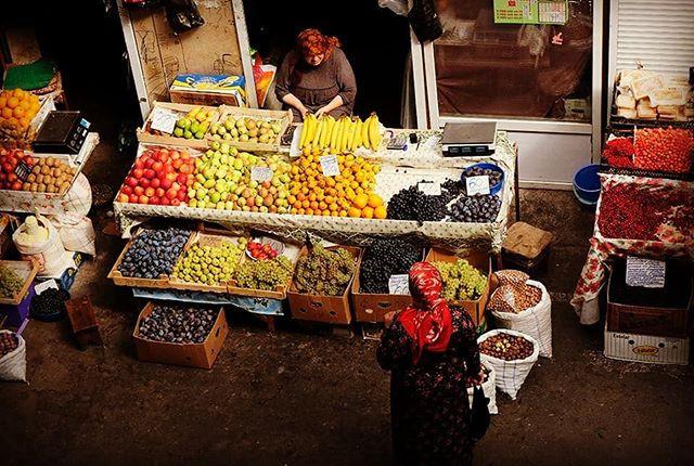 Market in Dagestan