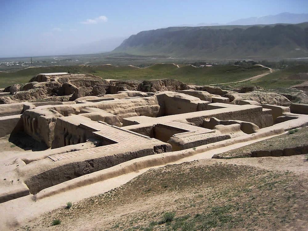 Fortress of Nisa in Turkmenistan