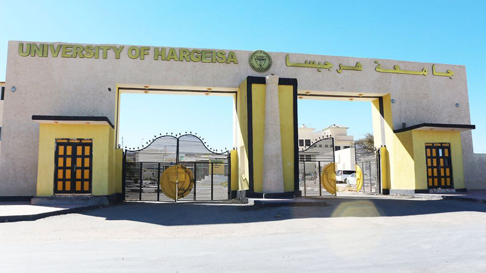 Entrance to the University of Hargeisa in Somaliland