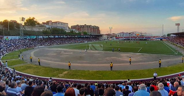 Stepanaker Stadium in Artsakh (Nagorno-Karabakh)