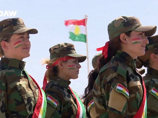 Female Kurdish Soldiers