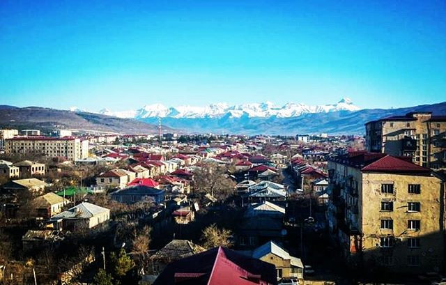 Tskhinval is the capital of the unrecognized country of South Ossetia