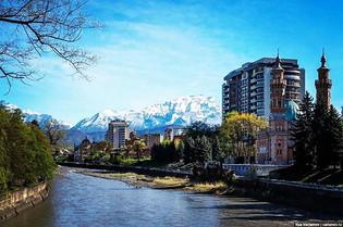River in Vladikavkaz