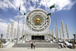 The Wedding Hall in Ashgabat