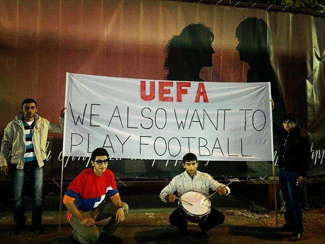 UEFA in Nagorno Karabakh