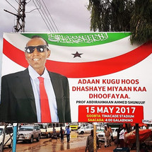 Elections Sign in Somaliland