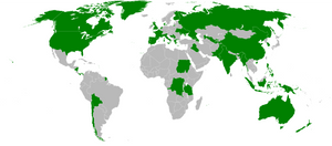 Map of Countries with Autonomous Regions
