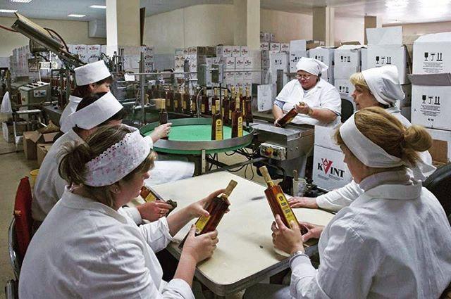 Kvint Factory in Transnistria