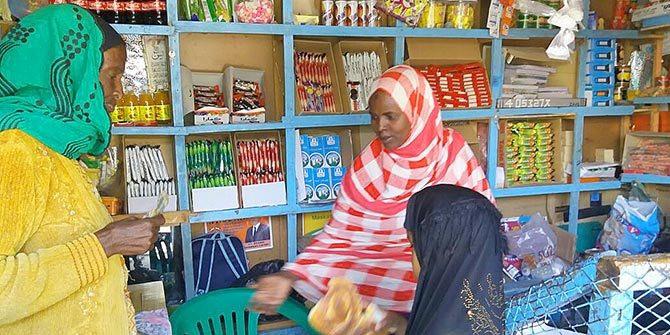 Women in Hargeisa Shop