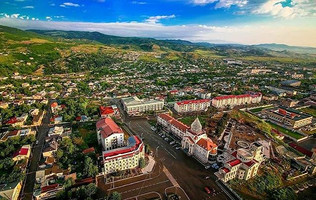 View of Stepanakert from Above