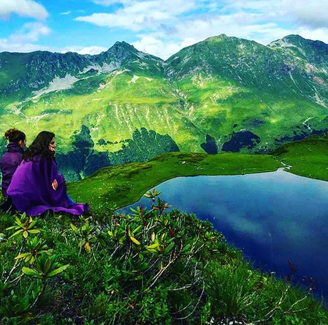 Enjoying Abkhazian Nature