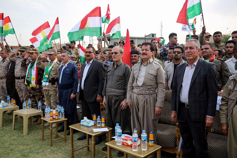 Support rally for Kurdistan referendum