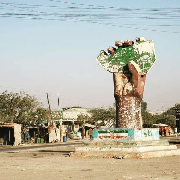 Independence monument for the only democratic country in the horn of Africa, Somaliland.