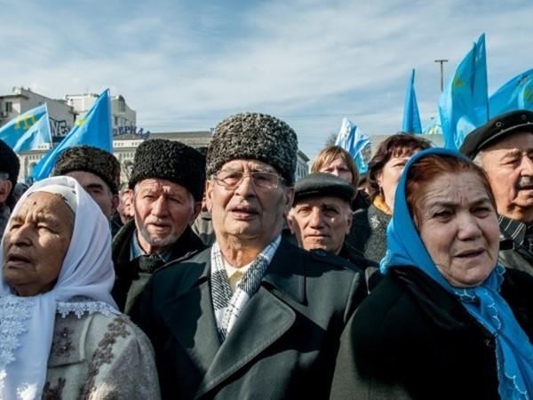 Crimea Tatars in Crimea