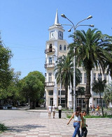Central Sukhumi on a sunny day