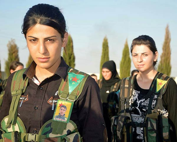 Women of the YPJ
