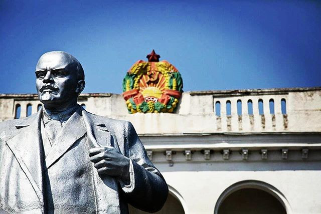 Statue of Vladimir Lenin in Transnistria