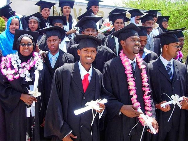 Graduates of the University of Hargeisa in Somaliland