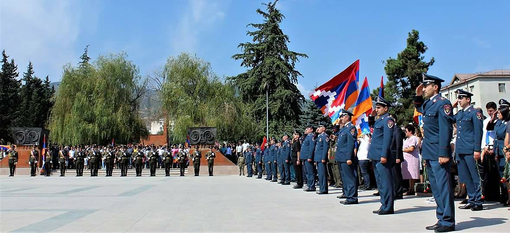Artsakh Military Ceremony