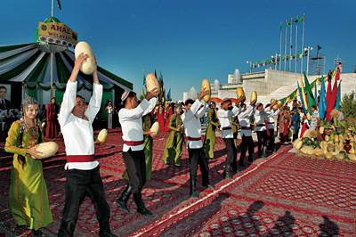 Melons in Turkmenistan