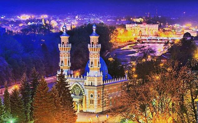 Mukhtarov Mosque in Vladikavkaz