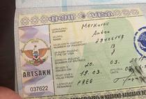 Artsakh Visa