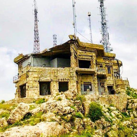 Saddam's Summer home in Kurdistan