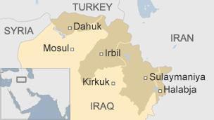 Iraqi Kurdistan and Disputed Territories