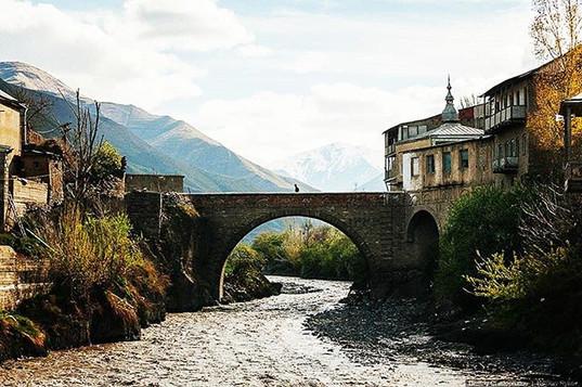 Bridge in the North Caucasus